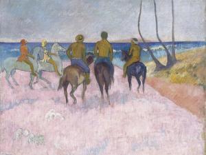 Reiter Am Strand (I) (Cavaliers Sur La Plage), 1902 by Paul Gauguin