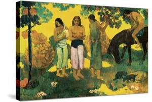 Rupe Rupe (Fruit Gathering in Tahiti) by Paul Gauguin