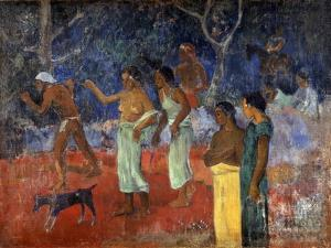 Scene from Tahitian Life, 1896 by Paul Gauguin