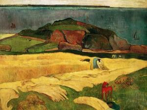 Seaside Harvest, 1890 by Paul Gauguin