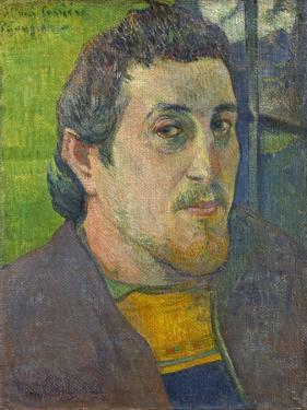 Self Portrait Dedicated to Carriere, 1888-1889 by Paul Gauguin