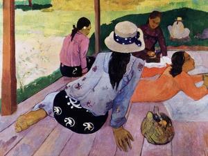 Siesta by Paul Gauguin