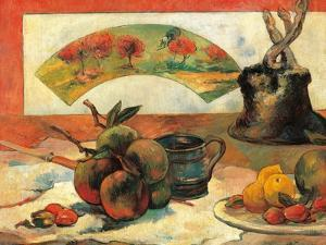 Still Life with Fruits by Paul Gauguin
