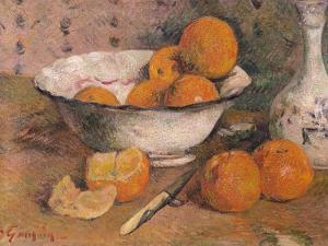 Still Life with Oranges, 1881 by Paul Gauguin