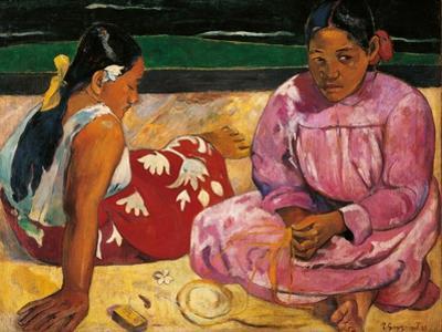 Tahitian Women by Paul Gauguin