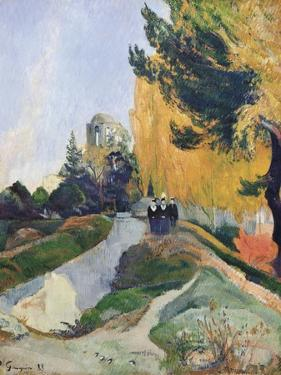 The Alyscamps, Arles by Paul Gauguin