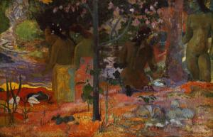 The Bathers, 1898 by Paul Gauguin