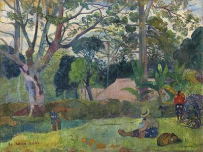 The Big Tree , 1891 by Paul Gauguin