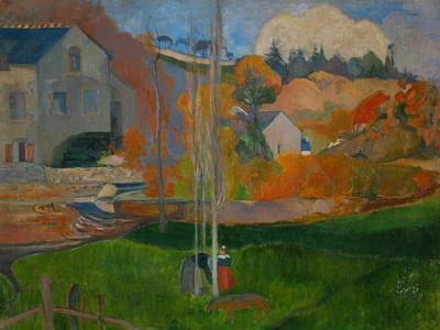 The David Mill, Brittany Landscape, 1894