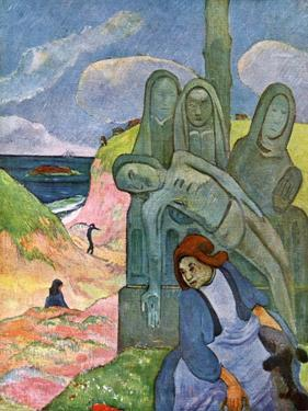 The Green Christ, 1889 by Paul Gauguin