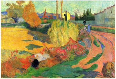 Paul Gauguin (The Mas of Arles) Art Poster Print