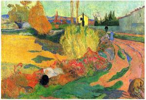 Paul Gauguin (The Mas of Arles) Art Poster Print