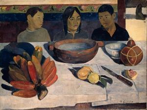 The Meal (Banana), 1891 by Paul Gauguin