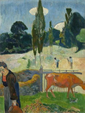 The Red Cow, 1889 by Paul Gauguin