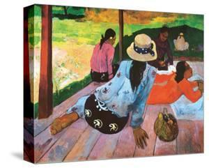 The Siesta by Paul Gauguin