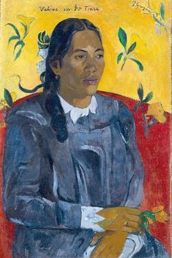 Vahine No Te Tiare (Woman with a Flower), 1891 by Paul Gauguin