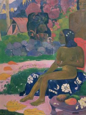 Vairaumati Tei Oa (Her Name is Vairaumati), 1892 by Paul Gauguin