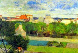 Vegetable Famers in Vauguirard by Paul Gauguin