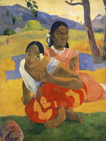 When Will You Marry?, 1892 by Paul Gauguin