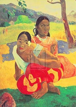 When Will You Marry? (Nafea Faa Ipoipo) by Paul Gauguin