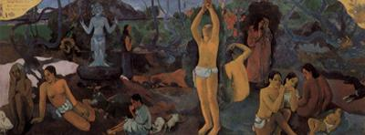 Paul Gauguin (Where are we? Who are we? Where do we go?) Art Poster Print
