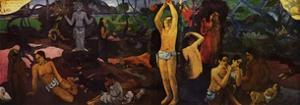 'Where Do We Come From - What Are We? - Where Are We Going?', 1936 by Paul Gauguin