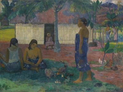 Why Are You Angry? , 1896 by Paul Gauguin