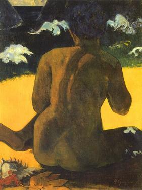 Woman on Shore, 1892 by Paul Gauguin