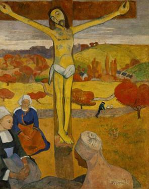 Yellow Christ. Oil on canvas (1889) 92 x 73 cm Cat. W 327. by Paul Gauguin