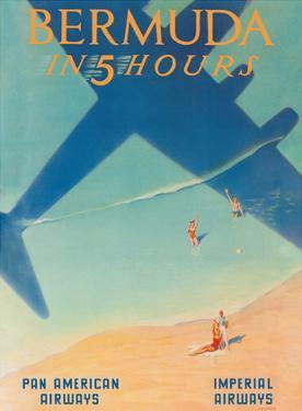 Bermuda in 5 Hours - Pan American Airways - Imperial Airways by Paul George Lawler