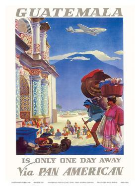 Guatemala Is Only One Day Away - Pan American World Airways (PAA) by Paul George Lawler