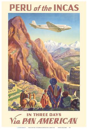 Peru of the Incas - Pan American Airways (PAA)