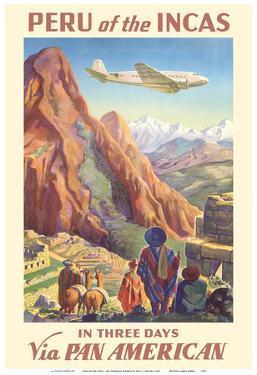 Peru of the Incas - Pan American Airways (PAA) by Paul George Lawler