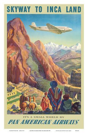 Skyway to Inca Land - Pan American Airways (PAA)