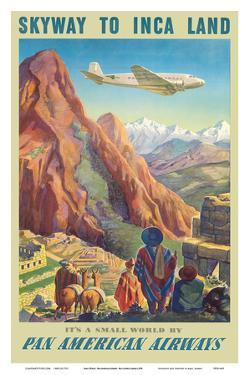 Skyway to Inca Land - Pan American Airways (PAA) by Paul George Lawler