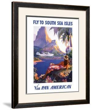 South Sea Isles via Pan Am by Paul George Lawler