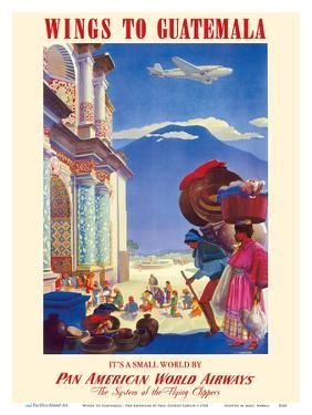 Wings to Guatemala - Pan American World Airways (PAA) by Paul George Lawler