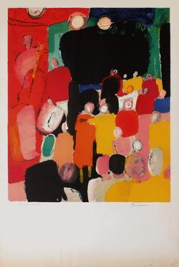 Le bal by Paul Guiramand