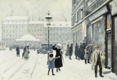 The Osterbrogade in Winter, 1918
