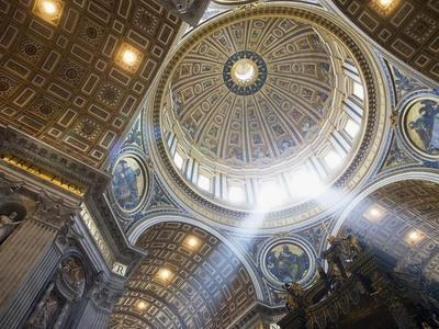 The Ceiling of St. Peter's Bascilica