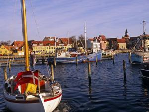 Harbour and Town of Faaborg, Denmark by Paul Harris