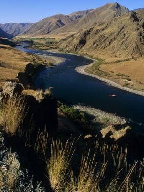Idaho, Whitewater Rafting on the Snake River in Hells Canyon, USA by Paul Harris