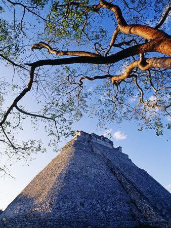 Magician's Pyramid, Uxmal, Yucatan State, Mexico