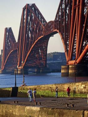 The Forth Rail Bridge, Firth of Forth, Edinburgh, Scotland by Paul Harris