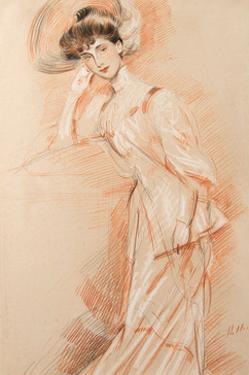 Une Elegante by Paul Helleu