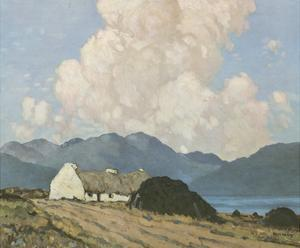 The Roadside Cottage by Paul Henry