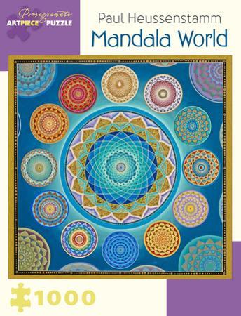 Paul Heussenstam: Mandala World 1000 Piece Puzzle