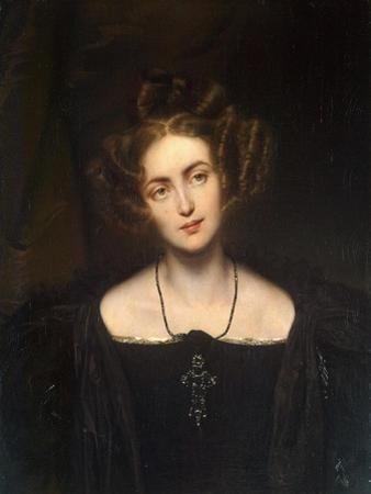 Portrait of the Opera Singer Henriette Sontag, (1806-185), 1831 by Paul Hippolyte Delaroche