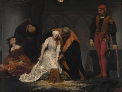 The Execution of Lady Jane Grey, 1833 by Paul Hippolyte Delaroche