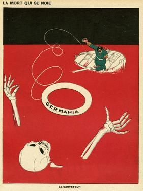 Germany Helps Death by Paul Iribe